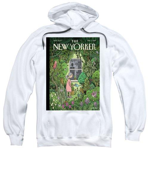 Winter Garden Sweatshirt