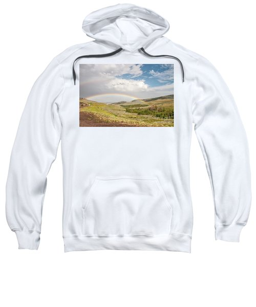 Wyoming Double Rainbow Sweatshirt