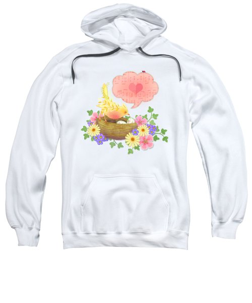 Yellow Bird's Love Song Sweatshirt