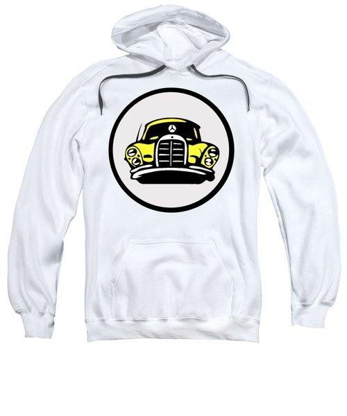 Yellow Mbz Pop Artwork Sweatshirt