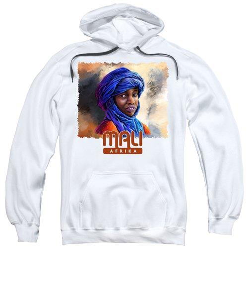 Young Boy From Mali Sweatshirt