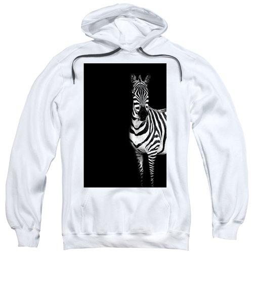 Zebra Drama Sweatshirt