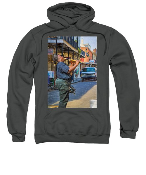 Feel It - Doreen's Jazz New Orleans 2 Sweatshirt