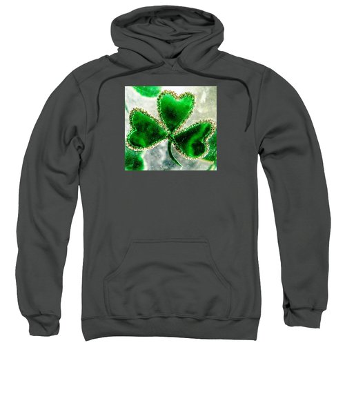 A Shamrock On Ice Sweatshirt