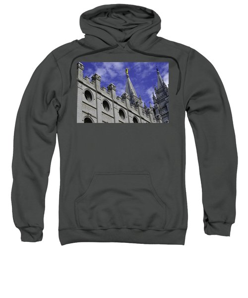 Angel On The Temple Sweatshirt