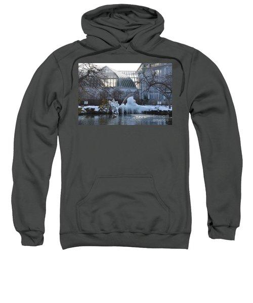 Belle Isle Conservatory Pond 2 Sweatshirt