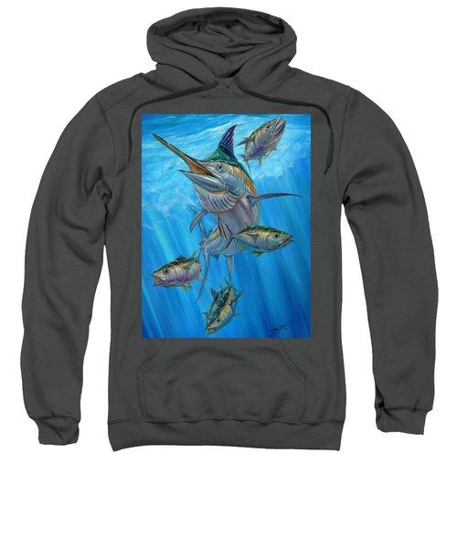 Black Marlin And Albacore Sweatshirt