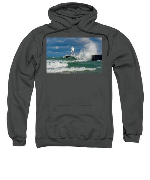 Break Wall Waves Sweatshirt