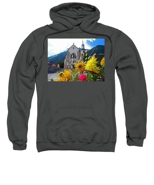 Chamonix Church Sweatshirt