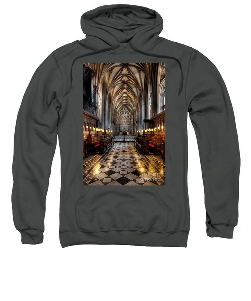 Church Interior Sweatshirt