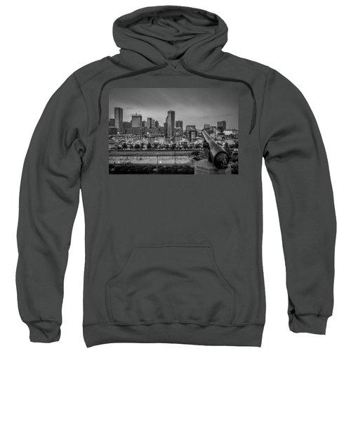 Federal Hill In Baltimore Maryland Sweatshirt