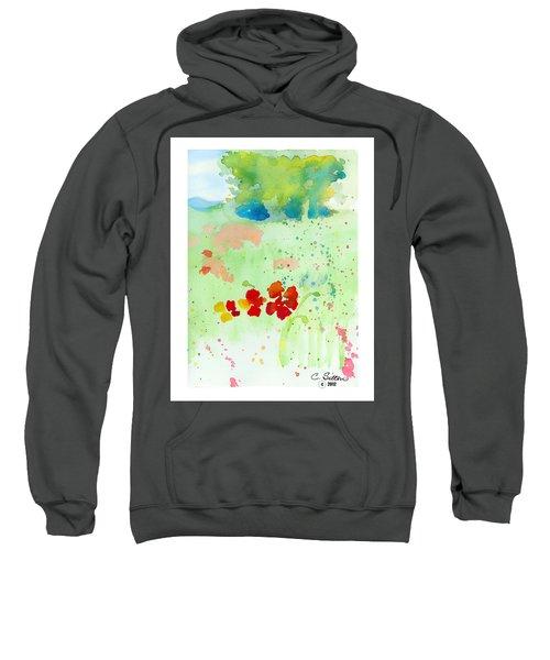 Field Of Flowers Sweatshirt