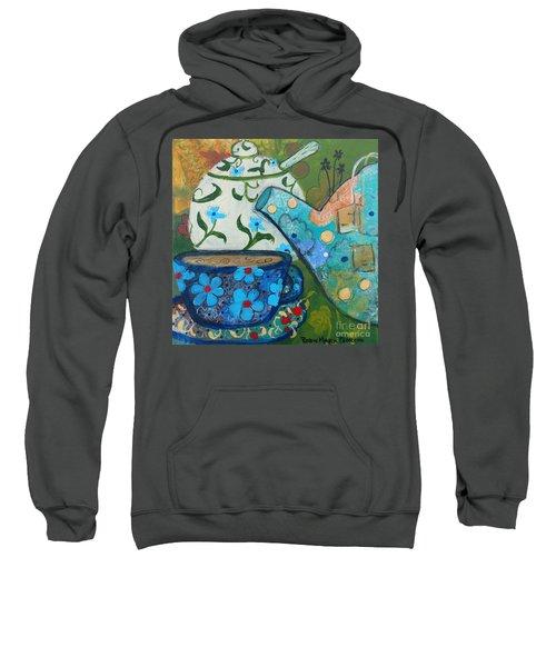 Floral Tea Sweatshirt
