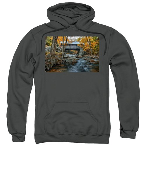 Flume Gorge Covered Bridge Sweatshirt