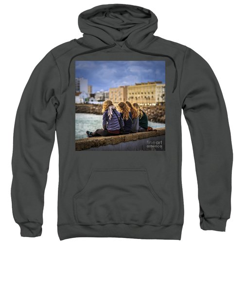 Foreign Students Cadiz Spain Sweatshirt