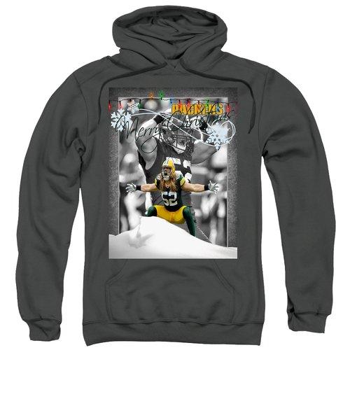 Green Bay Packers Christmas Card Sweatshirt