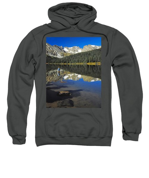 Indian Peaks Wilderness Area, Colorado Sweatshirt