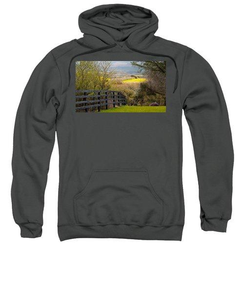 Irish Countryside In Spring Sweatshirt