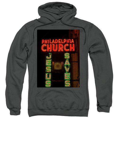 Jesus Saves Sweatshirt