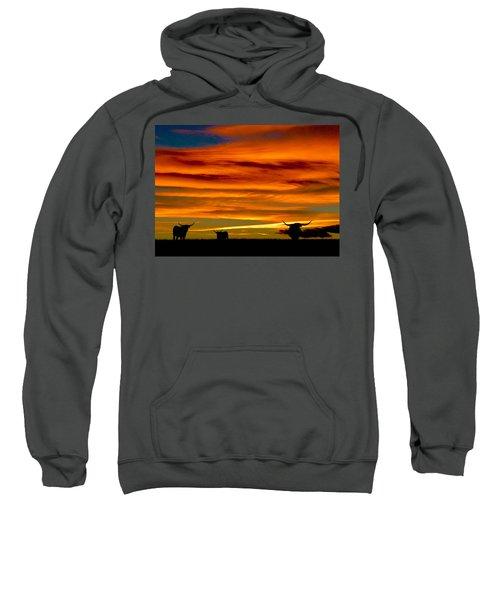 Longhorn Sunset Sweatshirt