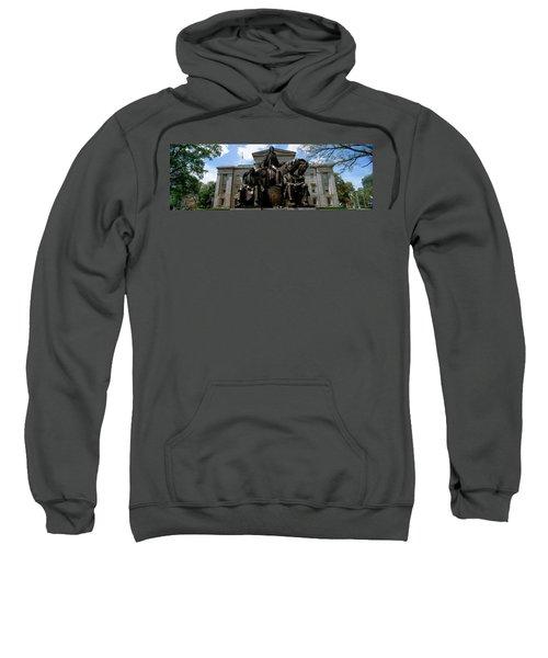 Low Angle View Of Statue Sweatshirt
