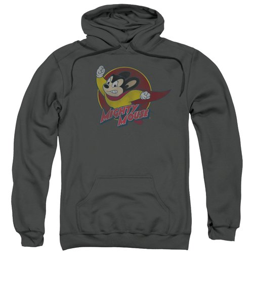 Mighty Mouse - Mighty Circle Sweatshirt by Brand A