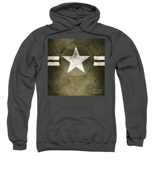Military Army Star Background Sweatshirt