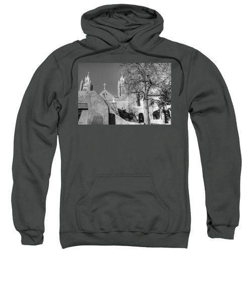 Mission In Black And White Sweatshirt