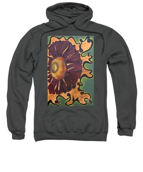 Old Fashion Flower Sweatshirt