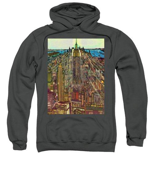 New York Mid Manhattan 1971 Sweatshirt