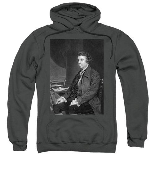 Philosopher Edmund Burke Sweatshirt