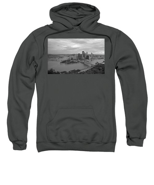 Pittsburgh - View Of The Three Rivers Sweatshirt