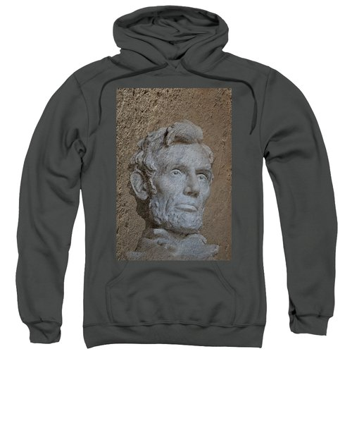 President Lincoln Sweatshirt by Skip Willits
