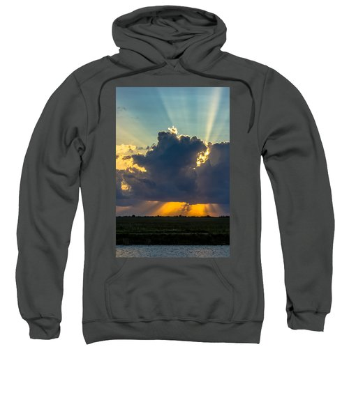 Rays From The Clouds Sweatshirt