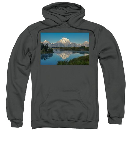 Reflections Of Mount Moran Sweatshirt