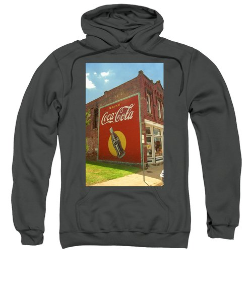 Route 66 - Coca Cola Ghost Mural Sweatshirt