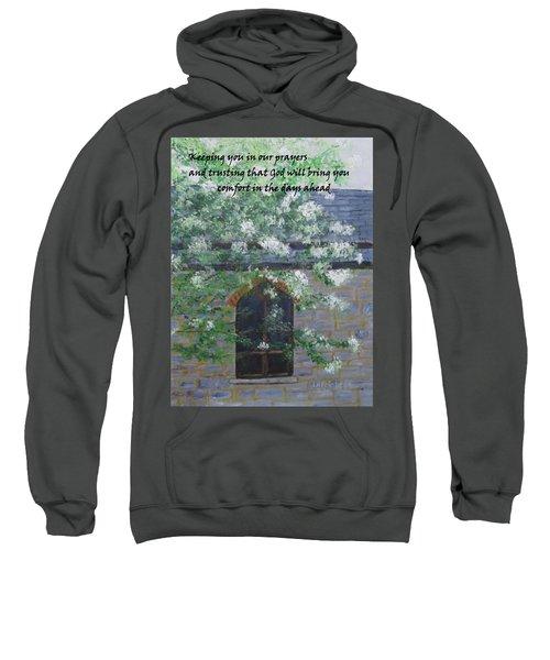 Sympathy Card With Church Sweatshirt