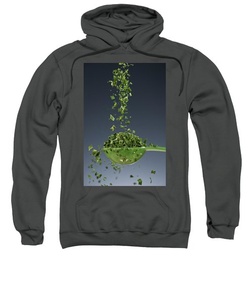 1 Tablespoon Chives Sweatshirt