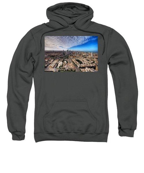 Tel Aviv Skyline Sweatshirt