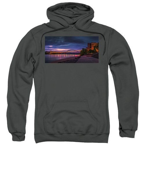 Wheeling Suspension Bridge  Sweatshirt
