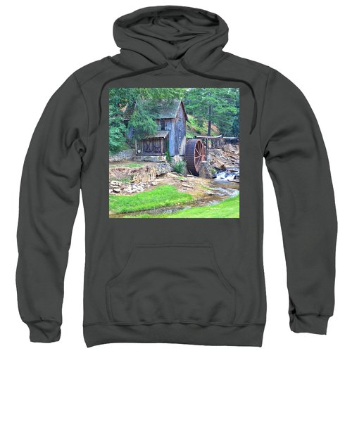 Sixes Mill On Dukes Creek - Square Sweatshirt