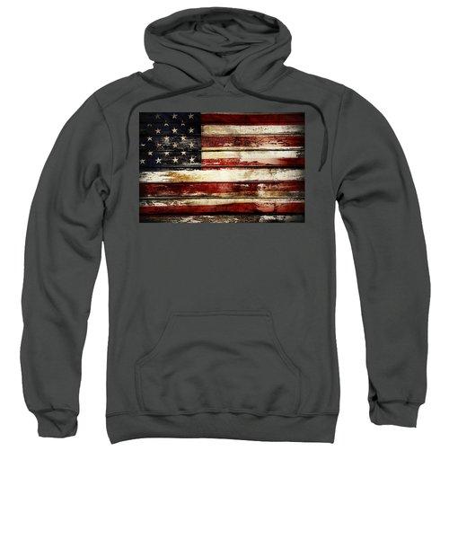 American Flag 33 Sweatshirt