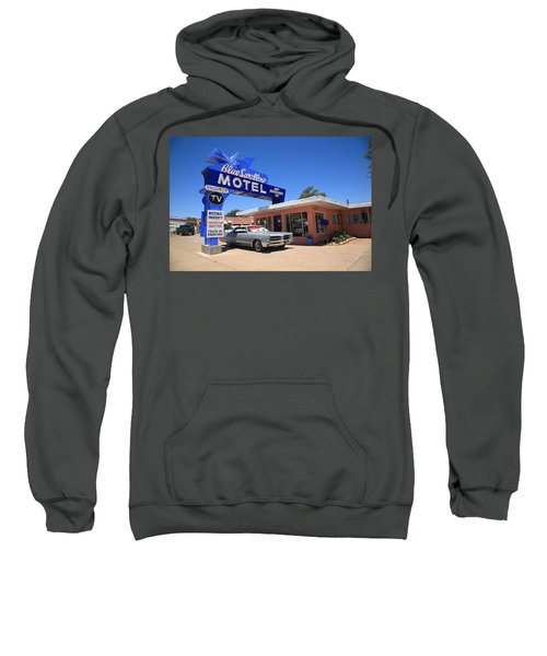 Route 66 - Blue Swallow Motel Sweatshirt