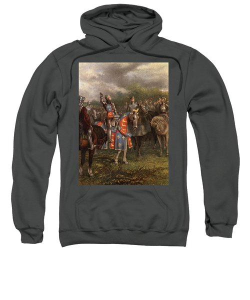 1400s Henry V Of England Speaking Sweatshirt