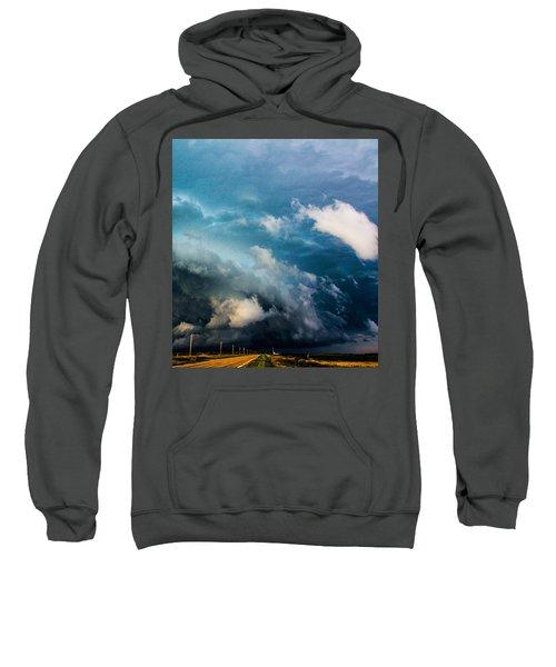 Industrial Light And Nebraska Thunderstorm Magic Sweatshirt
