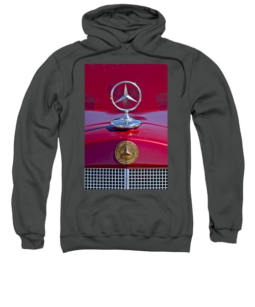 1953 Mercedes Benz Hood Ornament Sweatshirt