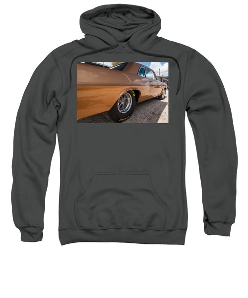 1963 Pontiac Lemans Race Car Sweatshirt