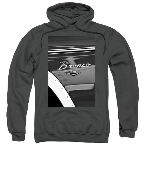 1972 Ford Bronco Emblem Sweatshirt