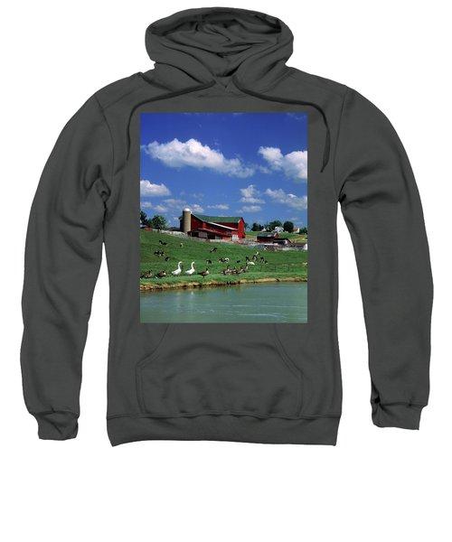 1990s Amish Family Farm Bunker Hill Sweatshirt