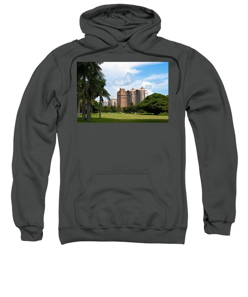 1st Hole At Granada Golf Course Sweatshirt